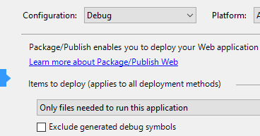 no symbols have been loaded for this document remote debugging