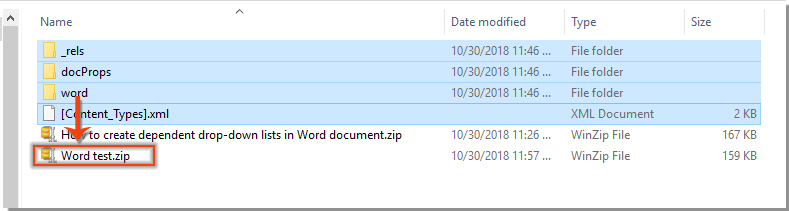 office open xml word processing document