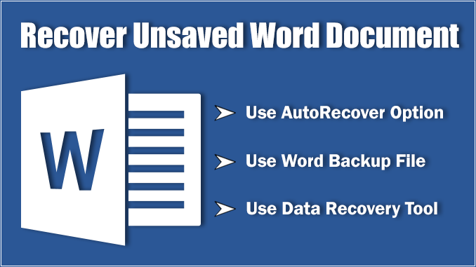 recover corrupt word document 2016