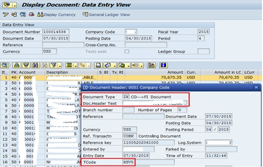 reference document number in sap