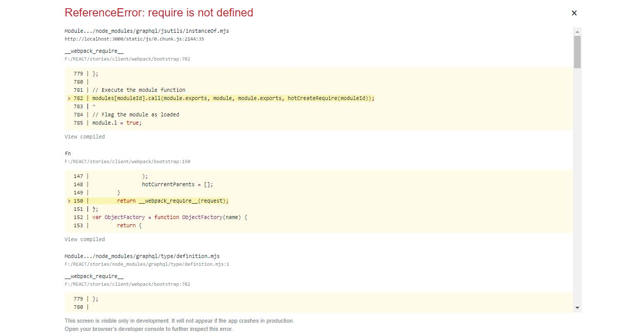 referenceerror document is not defined react