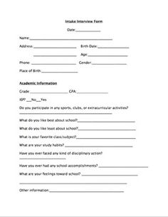 school based occupational therapy documentation forms