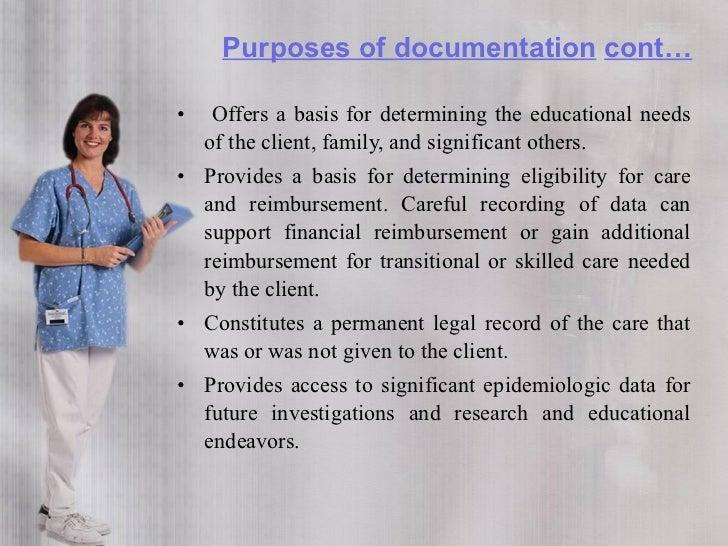 skilled nursing documentation examples