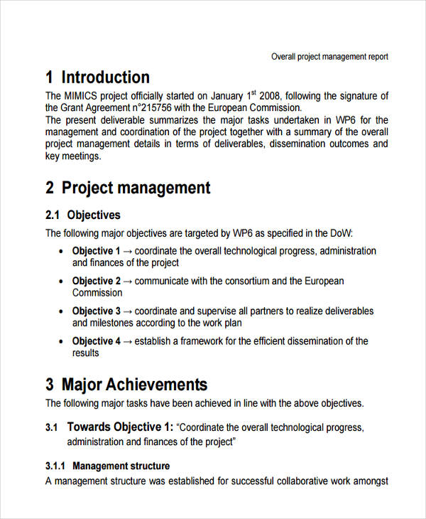 structure of html document pdf