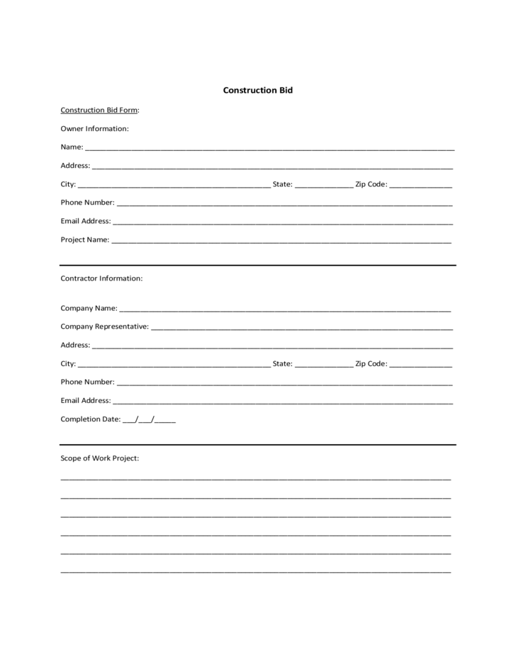 tender document template free download