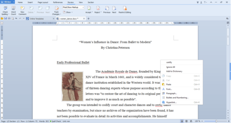 thesaurus for apache word document