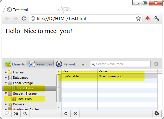 view document object console chrome tools