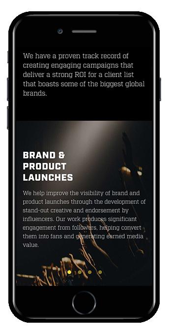 web design document food store