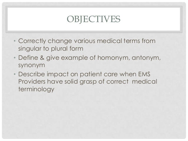 why is knowledge of medical terminology important for healthcare documentation