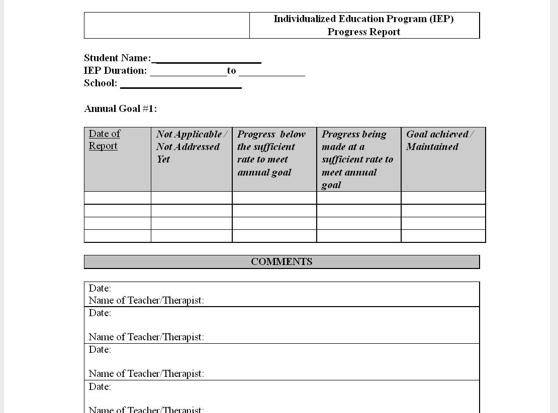 work in progress document template