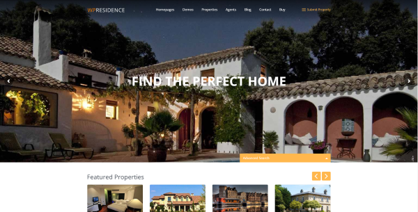 wp residence theme documentation